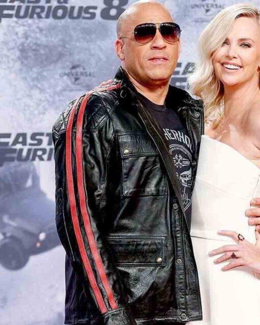 Vin Diesel Fast and Furious 09 Black Jacket Image