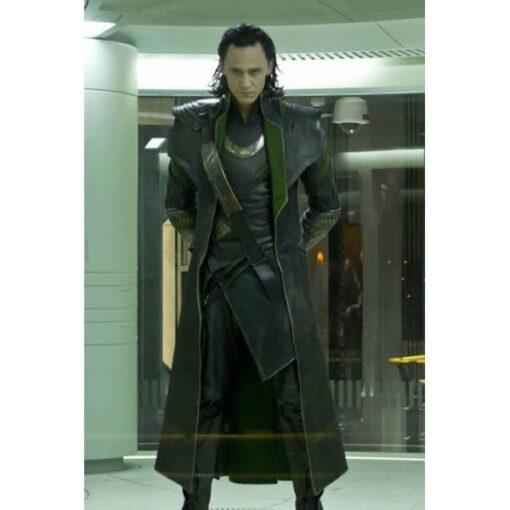 tom hiddleston the avengers loki coat