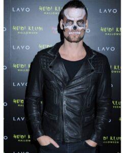 Adam Lambert Halloween Party Biker Jacket