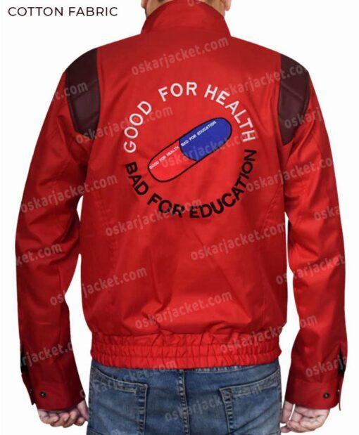 Akira Kaneda Red Capsule Jacket Back