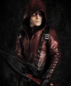 Arrow Roy Harper Red Jacket