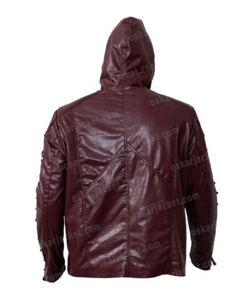 Arrow Roy Harper Red Jacket Back