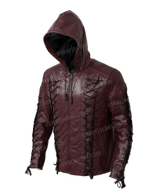 Arrow Roy Harper Red Jacket Left
