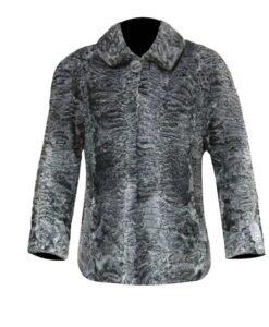 Astrakhan Persian Lamb Fur Jacket