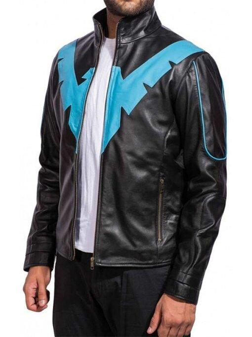 Batman Arkham Knight Nightwing Costume Jacket side