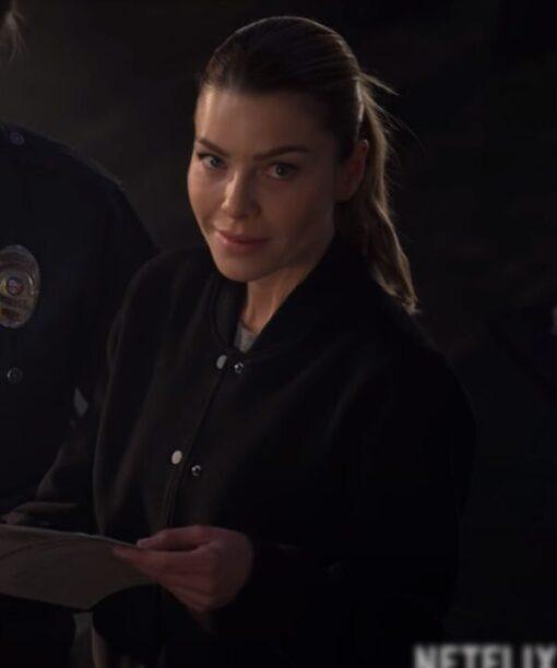 Chloe Decker Lucifer Fleece Bomber Jacket
