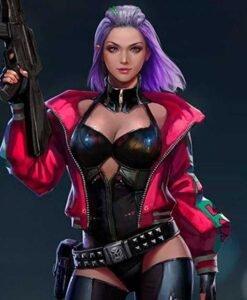 Cyberpunk 2077 Excellent We Fire Kira Madroxx Jacket Front