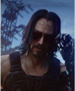 Cyberpunk 2077 Johnny Silverhand Black Tactical Vest