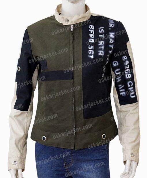 Emma Stone Cruella De Vil Grey Jacket