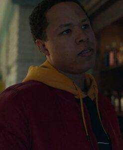 Eric Graise Locke & Key Red Jacket Face Image