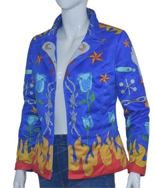 Harley-Quinn-Birds-Of-Prey-Cotton-Blazer Right