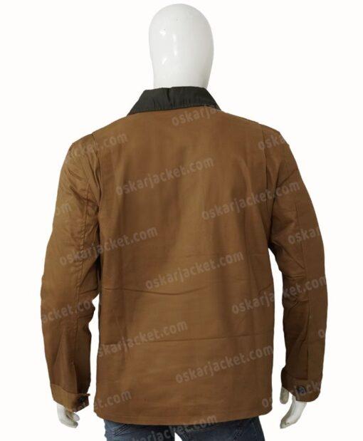Heartland Jack Bartlett Cotton Brown Jacket Back