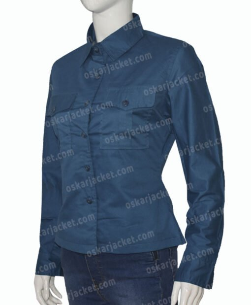 Jungle Cruise Lily Houghton Green Jacket Right
