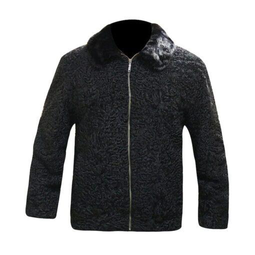 Karakul Lamb Fur Jacket