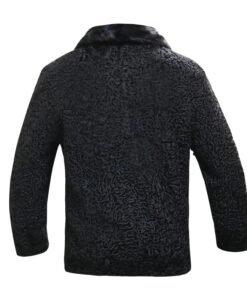 Karakul Lamb Fur Jacket Back