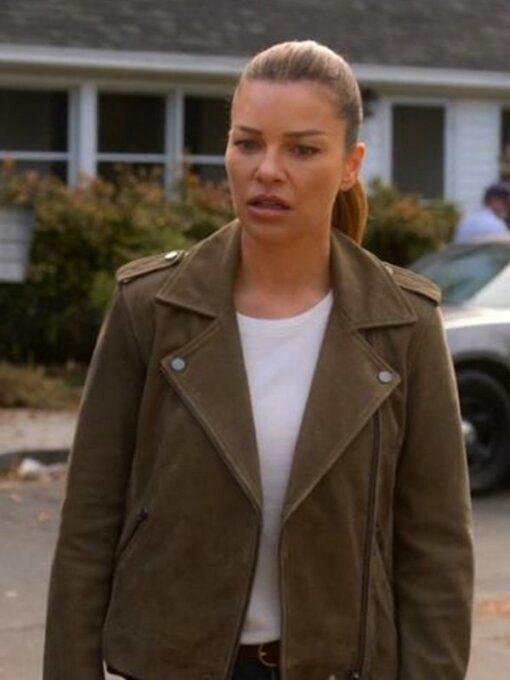 Lauren German Lucifer Brown Leather Jacket 1