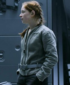 Lost In Space Mina Sundwall Grey Jacket