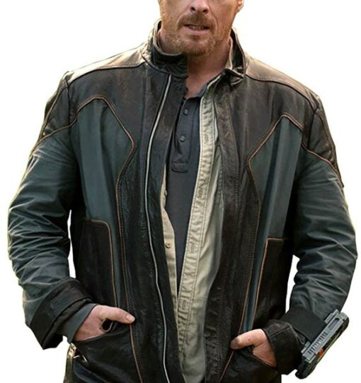Lost in Space John Robinson Leather Jacket