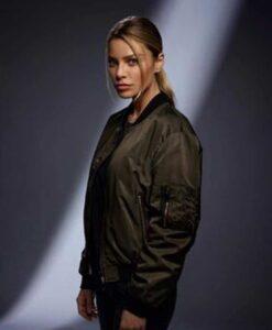 Lucifer Chloe Decker Satin Jacket
