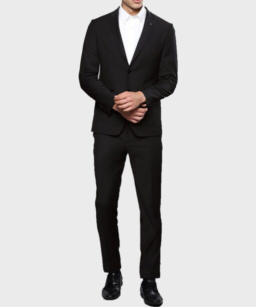 Lucifer Morningstar Tom Ellis Black Suit Coat 2