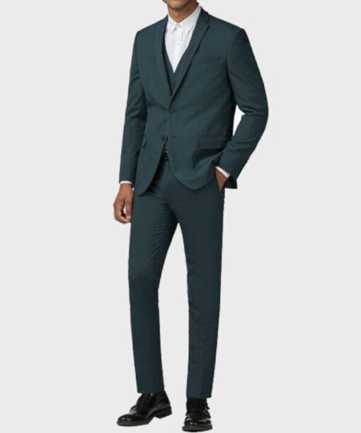 Lucifer Tom Ellis Morningstar Green Suit Coat