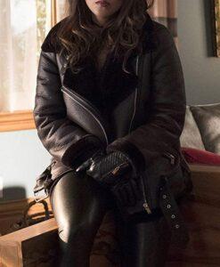 Mazikeen-Lucifer-Black-Sheepskin-Shearling-Leather-Jacket