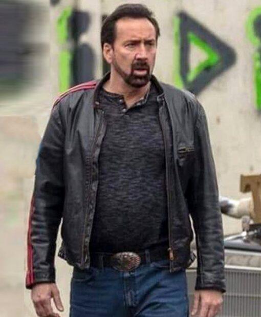 Nicolas Cage Willy's Wonderland Black Jacket