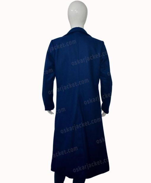 Nicole Kidman The Undoing Blue Trench Coat Back
