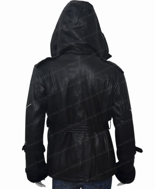 Once Upon a Time Emma Swan Black Jacket Back