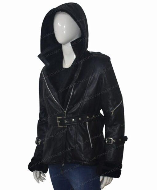 Once Upon a Time Emma Swan Black Jacket Left