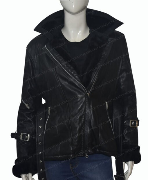 Once Upon a Time Emma Swan Black Jacket Unhooded
