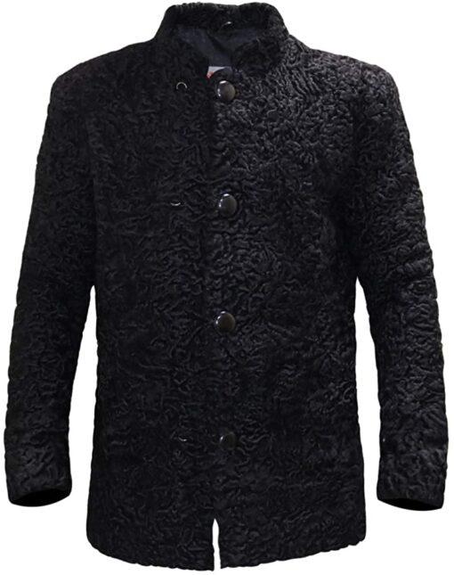 Persian Lamb Black Coat