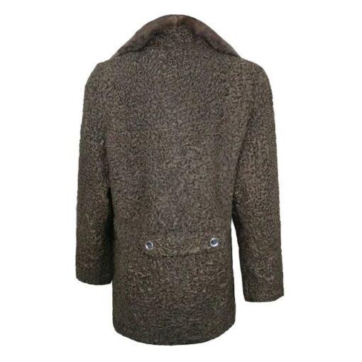 Persian Lamb Fur Brown Coat