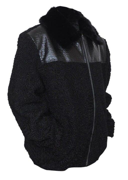Persian Lamb Fur Sawarka Coat Right Side