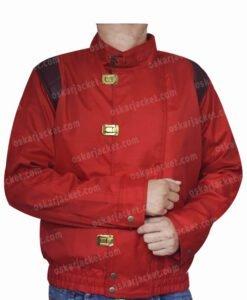 Red Akira Kaneda Capsule Logo Jacket