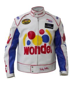 Ricky Bobby Wonder Bread Cowhide Jacket Front