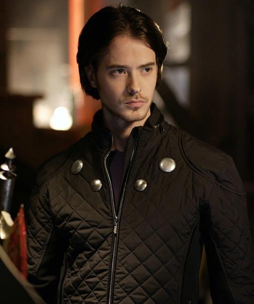 Smallville Rokk Krinn Quilted Jacket