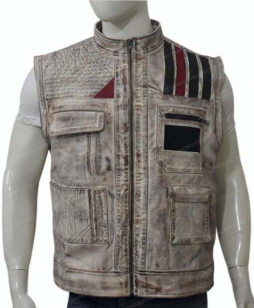 Star Wars The Rise of Skywalker Finn Vest Zipped