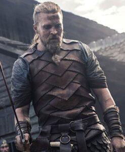 The Last Kingdom Ragnar Brown Vest 3