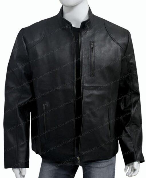 The Walking Dead Season 9 Negan Black Jacket Unzipped