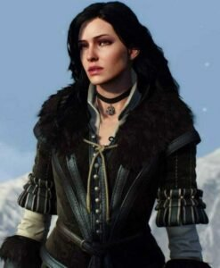 The Witcher 03 Yennefer Fur Vest
