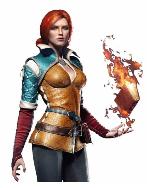 The Witcher 3 Game Triss Merigold Jacket