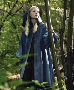 The Witcher Ciri Hooded Blue Coat