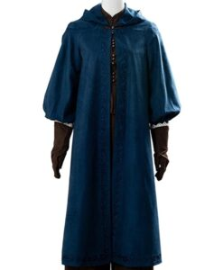 The Witcher Ciri Hooded Blue Coat Image