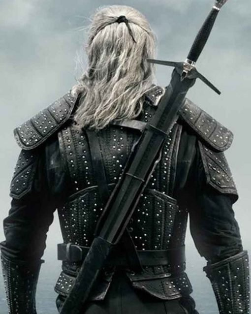 The Witcher Leather Costume Jacket Back
