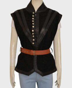 The Witcher Yennefer Black Vest