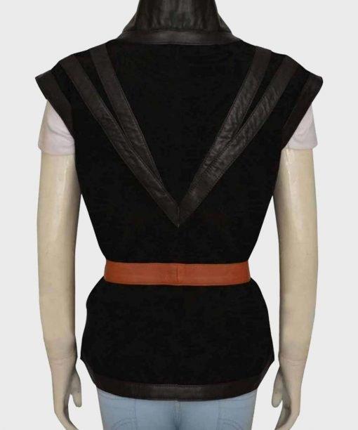 The Witcher Yennefer Black Vest Back