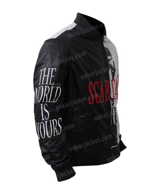 Tony Montana Scarface Al Pacino Black Jacket