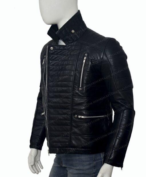 Trevor Calcote Cold Pursuit Leather Jacket Right