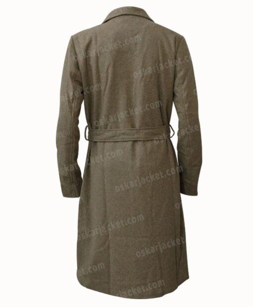 Virgin River Melinda Monroe Wool Coat Back